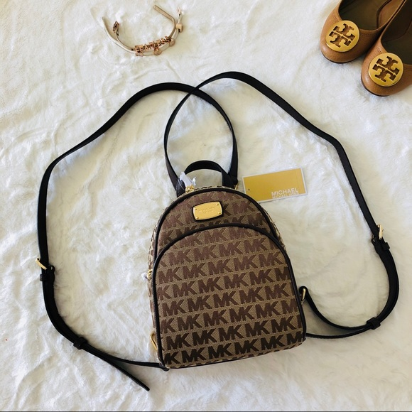 cdc783644531 NWT Michael Kors Abbey XS Backpack